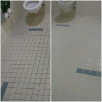 bathroom tile cleaning St Kilda Road