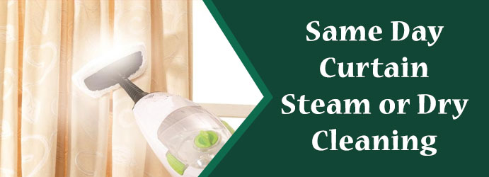 Same Day Cutain Steam Dry Cleaning  Hillside