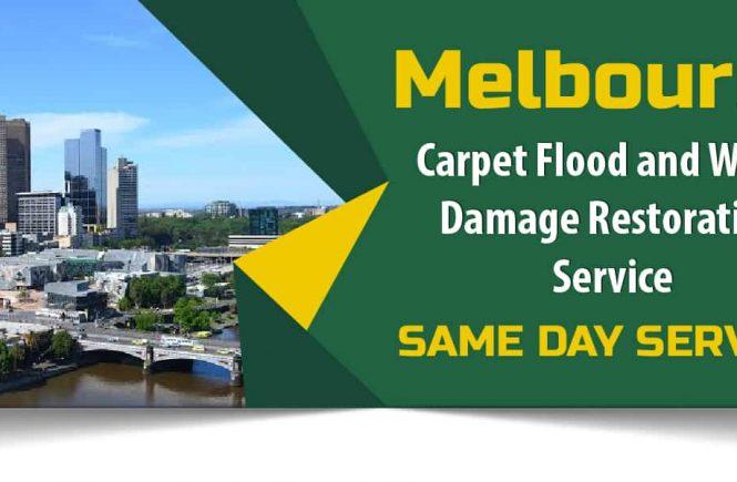 Carpet Flood and Water Damage Restoration Melbourne