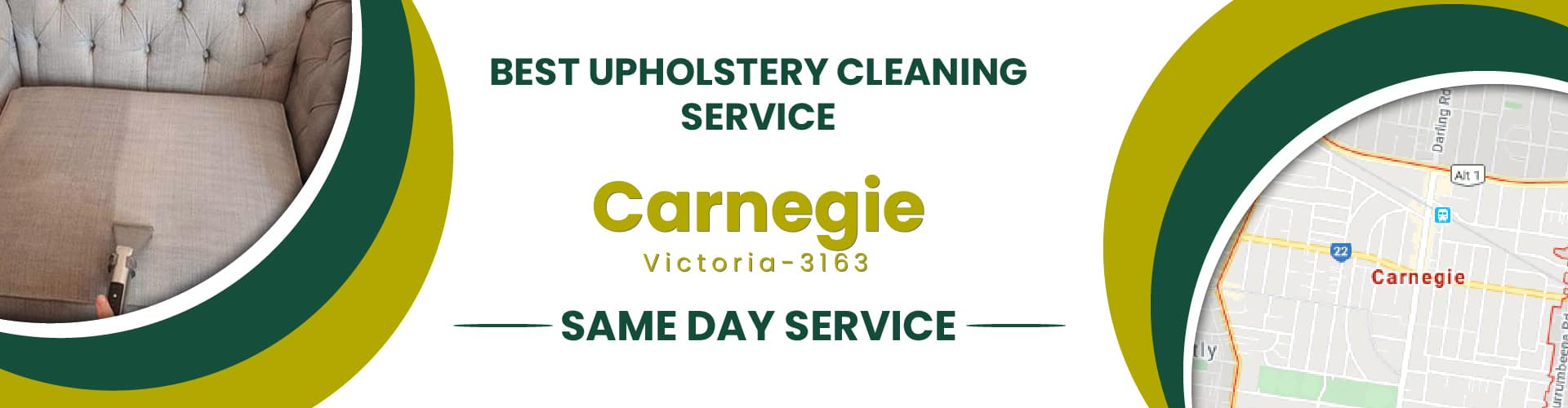 Upholstery Cleaning Carnegie
